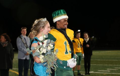 Seniors Royal Miller and Annsley Guillen crowned 2017 Homecoming King and Queen