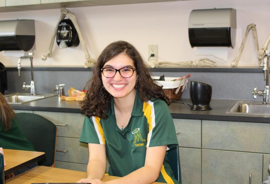 Gillian Trujillo (Photo courtesy of Mrs. Myrehn)