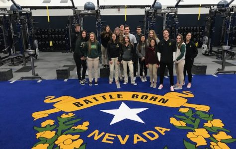 Advanced Sports Medicine Students Tour UNR's New Facilities