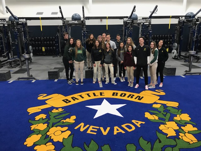 Manogue%27s+advanced+Sports+Medicine+students+tour+the+new+Ramon+Sessions+Basketball+Performance+Facility+on+the+University+of+Nevada%2C+Reno+campus+%28February+20%29.++Photo+courtesy+of+Kelsey+Hammerel.