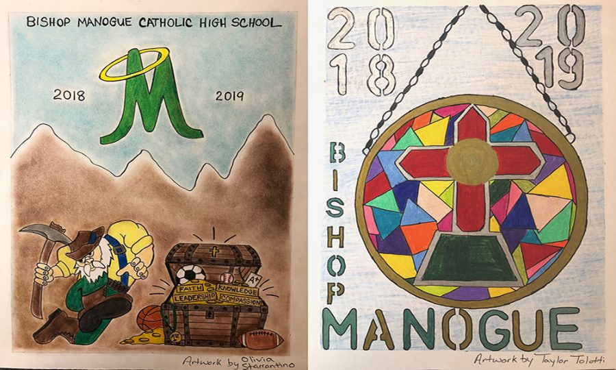 2018-19 Handbook and Planner Covers