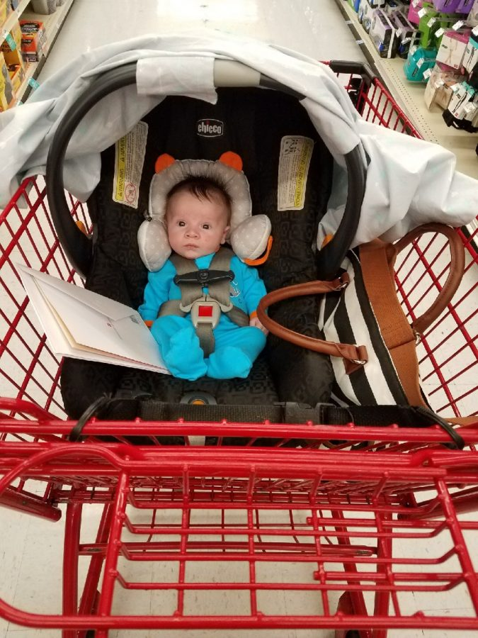 Finn Galli on a shopping spree!