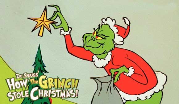 Orginal animated version by Dr. Seuss. Photo courtesy of Ruthless Reviews. - The Grinch Who Stole Christmas Vs. Dr. Seuss The Grinch €� Miner Detail