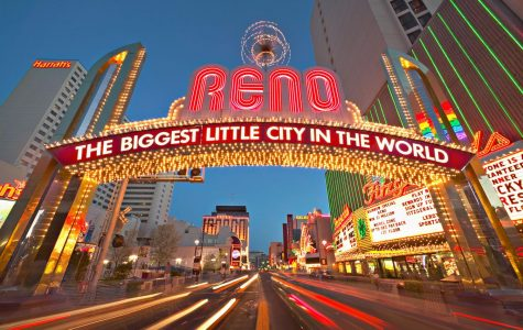 The famous Reno arch. Photo courtesy of Google.