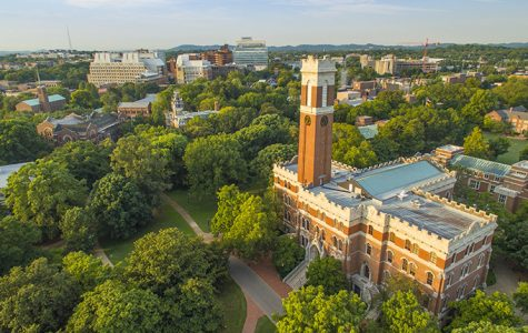 Aerial images of Vanderbilt Campus and Kirkland Hall by Daniel Dubois
