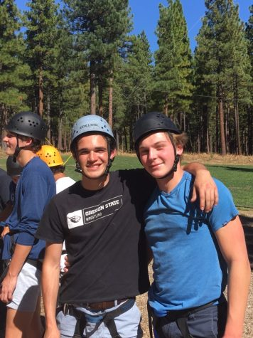 Two Manogue Men getting closer to each other.